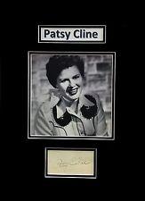 Patsy Cline Original Autograph Album Leaf