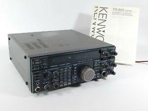 Kenwood TS-850S Ham Radio Transceiver w/ MARS Mod + Rebuilt Carrier Board (nice)