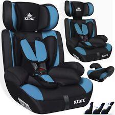 Kidiz® Autokindersitz Autositz Kinderautositz 9-36 kg Gruppe 1+2+3 Sitz H.Blau
