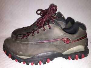 Men's Size 10.5 MERRELL 45° REDLINE Graphite Wear Them Out HIKING SHOES BOOTS