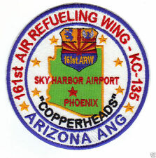 ARIZONA ANG PATCH, 161ST AIR REFUELING WING, COPPERHEADS, PHOENIX              Y