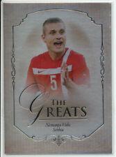 FUTERA 2015 NEMANJA VIDIC SERBIA 13/14 PARALLEL FOOTBALL CARD