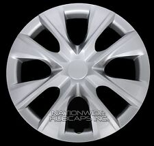 "Set of 4 2003-2016 Toyota Corolla 15"" Wheel Covers Rim Hub Caps with STEEL CLIPS"