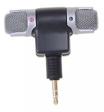ECM-DS70P Electret Condenser 3.5mm Jack 110dB SPL Stereo Microphone for Sony WT