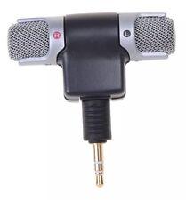 3.5mm Jack ECM-DS70P condensador electret micrófono estéreo 110dB Spl Para Sony Wt
