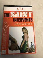 The Saint Intervenes Leslie Charteris 1965 Hodder