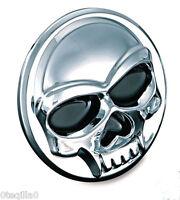 badje emblem ornement tete de mort  moto chopper skull kuryakyn 1491 medallion L