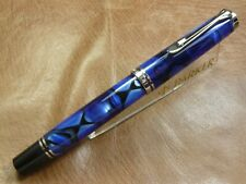 PELIKAN 2019 Special Edition Blue Dunes M805 Fountain Pen 18K Fine Nib Free ship