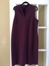 MARIA PINTO Purple  Sleeveless Shift Dress Size XL