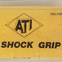 """NOS Vintage Black ATI Air Shock Grip 17051 050-ASP Mountain Bike Grips 5.25"""""""