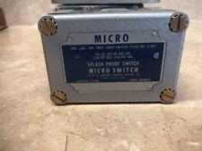 HONEYWELL MICRO SWITCH OP-AR SPLASH PROOF SWITCH OPAR New in the Box