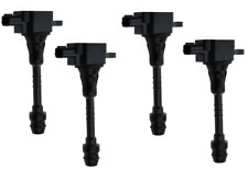 PACK OF 4 NEW IGNITION COILS FOR NISSAN ALMERA PRIMERA TINO 224486N000 6734020