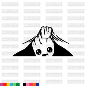 PEAKING BABY GROOT Jap JDM Dub Vag Drift Funny Window/Car/Van Decal Sticker 101