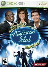 cib Karaoke Revolution Presents: American Idol Encore (Microsoft Xbox 360, 2008)