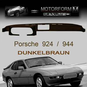 Porsche 924 944 Armaturenbrett-Cover Abdeckung dashboard dash cover braun brown