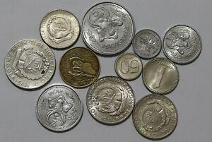 ANGOLA & MADAGASCAR MASSIVE OLD COINS LOT B38 ZF2