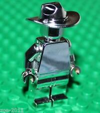 Lego Silver Chrome Lone Ranger Minifigure NEW!!!!