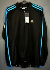 NEW MEN'S LONG SLEEVE ADIDAS CYCLING CYCLISMO SHIRT JERSEY MAILLOT MAGLIA SIZE M
