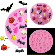 Halloween 3D Silicone DIY Fondant Cake Chocolate Sugarcraft Decor Mould Mold