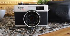 Rare RICOH 35 FM Vintage Compact 35mm Film Camera Collectable case photography