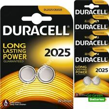Baterías desechables pilas de botón Duracell CR2025 para TV y Home Audio