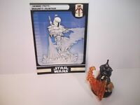 Star Wars Miniatures - Jango Fett, Bounty Hunter 37/60 + Card - Very Rare - BH
