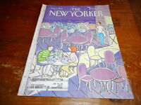 AUG 3 1992 NEW YORKER vintage magazine - OUTDOOR CAFE RESTAURANT