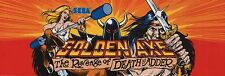 Golden Axe Video Game High Quality Metal Magnet 2 x 6 inches 9147