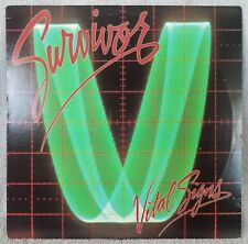 "SURVIVOR 1984 Vital Signs (39578) 12"" Vinyl 33 LP (FZ 38062) Scotti Bros ROCK Ex"