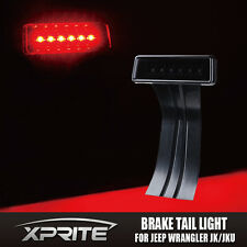 Xprite 3rd LED Brake Light Fits 07-17 JK Jeep Wrangler Black with Smoke Lens