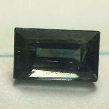 0.90 ct Natural Emerald-cut Not-Heated Greenish-Blue VVS Sapphire (Africa)