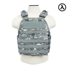 NCSTAR PLATE CARRIER VEST TACTICAL GEAR / DIGITAL CAMO CVPCV2924D - [MED-2XL]