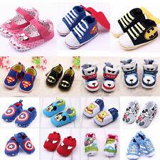 Infant Baby Girl Boy Toddler Anti-slip Warm Slippers Socks Cotton Crib Shoe 0-18