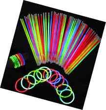 Glowsticks 100 Light Glow Stick Bracelets Mixed Colors Party Favors Supplies