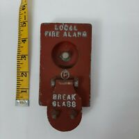 Vintage Local Fire Alarm. Model BGS, serial number 03742147.