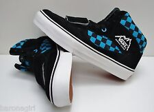Vans Mountain Edition High Checkerboard Black Vivid Blue VN-0XC1QLY Mens Size 7