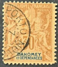 STAMPS FRANCE 1892 DAHOMEY USED - #1649