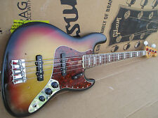1971 Fender Jazz Bass USA -- RARE FAT NECK profils