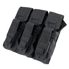 Condor MA72 BLACK MOLLE Triple 7.62x39 5.56 Rifle Kangaroo M9 Magazine Pouch