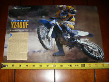 1998 YAMAHA YZ400F - ORIGINAL ARTICLE
