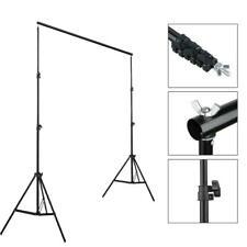 10Ft Adjustable Photography Background Stand Photo Backdrop Crossbar Frame