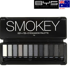 BYS EYE SHADOW EYESHADOW PALETTE SMOKEY  SET OF 12 MIXED SHIMMER