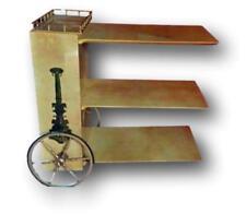 Carrello bar mobile tavolino tavolo anni 60 design aldo tura disegni fornasetti