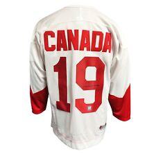 Paul Henderson Equipo Canadá firmado autografiada 1972 Serie Summit Camiseta De Hockey