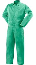 "Steiner Weldlite Coveralls Flame Retardant 4Xl Green 32"" Inseam Industrial"