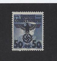 MNH WWII emblem stamp / Poland Occupation / 50 Gr 1940 Issue MNH stamp w/ holder
