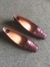 Van Dal Ladies Court Shoe In Chestnut Size 6d