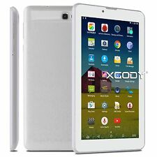 XGODY Unlocked 3G Dual SIM 7''Android 6.0 Tablet  PC Quad Core 8GB HD Phablet