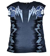 Women's PUMA x Alexander McQueen Print Tee T-Shirt Dark Shadow size S (T35) $65