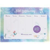 Settimanale Agenda Scrivania Imbottitura - Calendario Ufficio Scuola Sirena